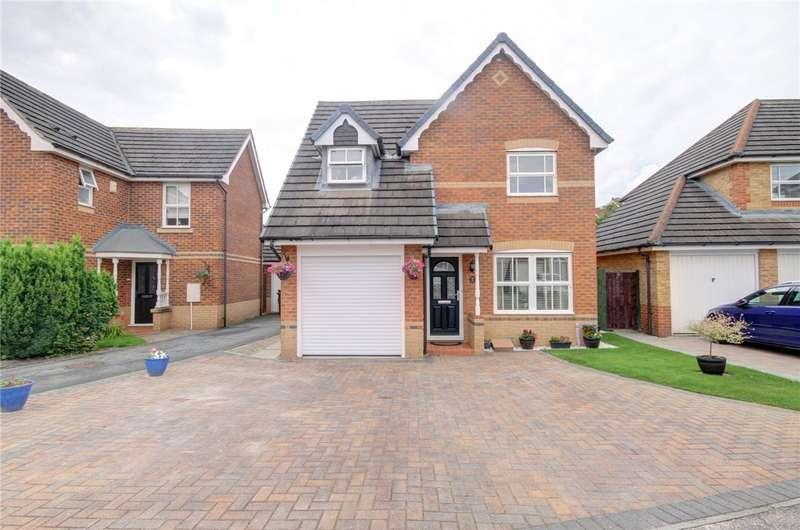 3 Bedrooms Detached House for sale in Helmsdale Close, Darlington, DL1