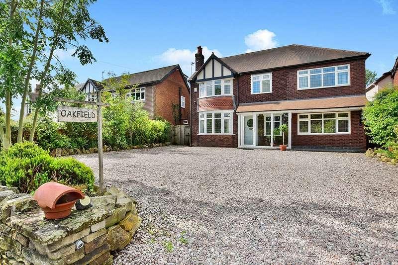 6 Bedrooms Detached House for sale in Jacksons Lane, Hazel Grove, Stockport, Greater Manchester, SK7