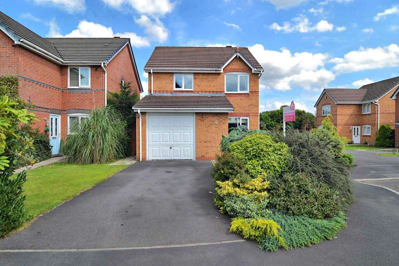 3 Bedrooms Detached House for sale in Pipit Avenue, Newton Le Willows