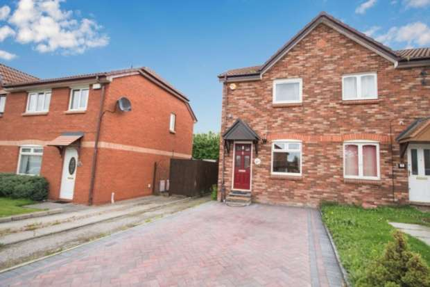 2 Bedrooms Semi Detached House for sale in Ashwood Circle, Bridge Of Don, Aberdeenshire, AB22 8XU