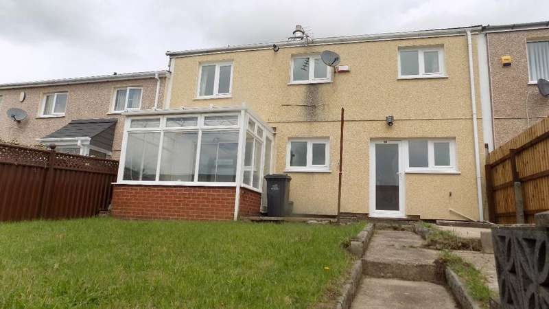 2 Bedrooms Terraced House for sale in Mount Pleasant Estate Brynithel. NP13 2HN.