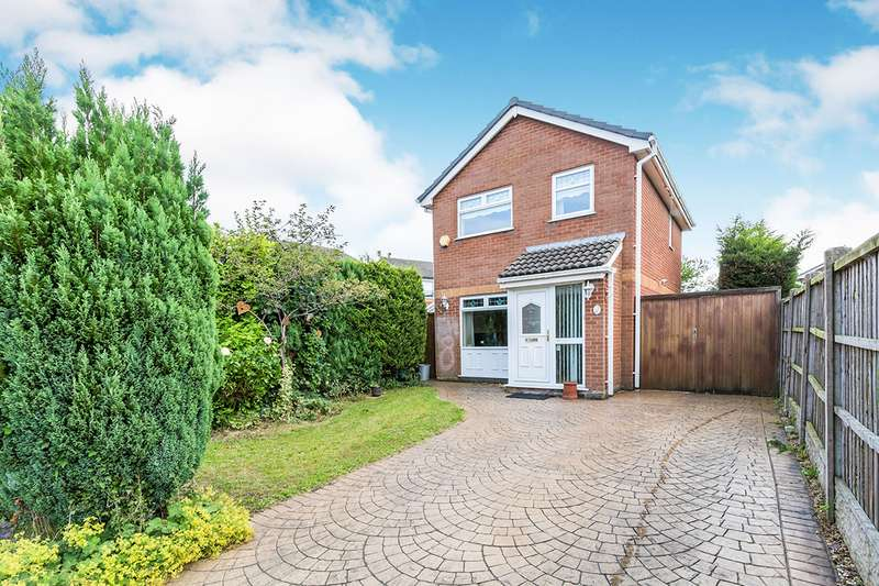 3 Bedrooms Detached House for sale in Carawood Close, Shevington, Wigan, Lancashire, WN6
