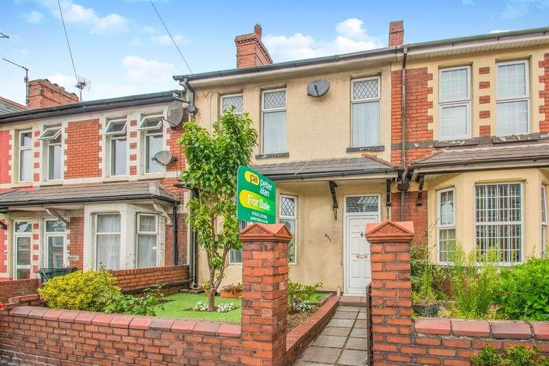 3 Bedrooms Semi Detached House for sale in Caerleon Road, NEWPORT