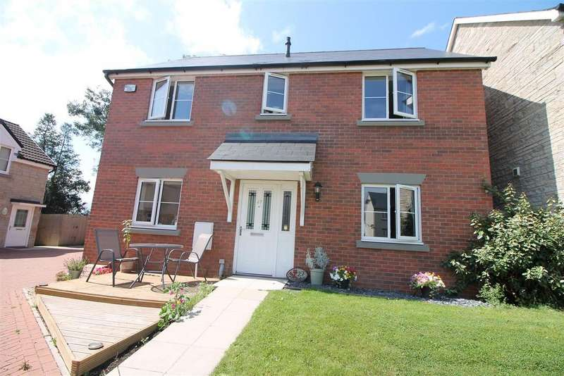 4 Bedrooms Detached House for sale in Poppy Field, Broadwell, Coleford