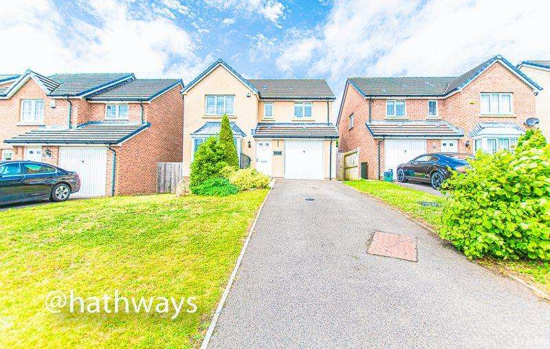 4 Bedrooms Detached House for sale in Ladyhill Road, Newport