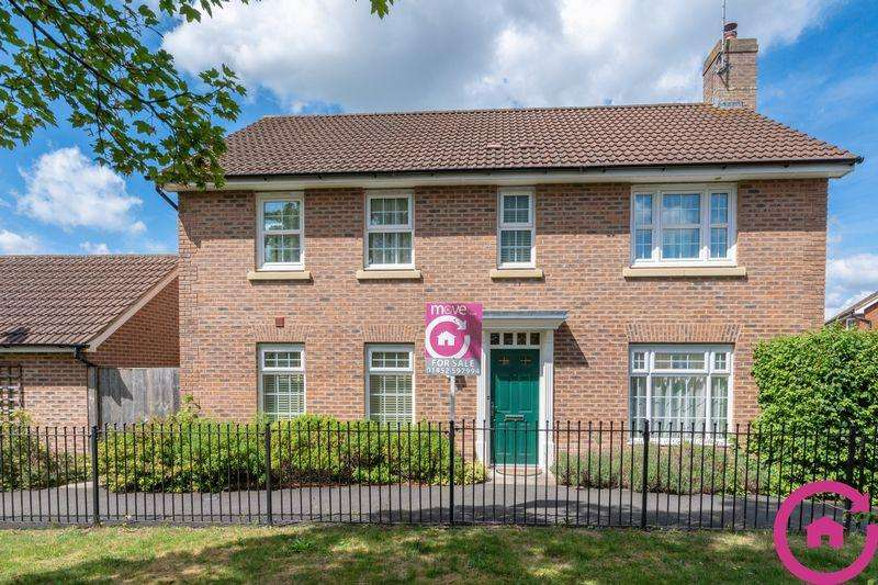 4 Bedrooms Detached House for sale in Holbeach Drive, Kingsway, Gloucester