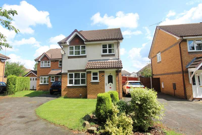 3 Bedrooms Detached House for sale in Kingswood Crescent, Middlewich, Cheshire, CW10