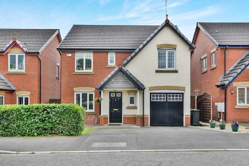 4 Bedrooms Detached House for sale in Rotherhead Drive, Macclesfield, Cheshire, SK11