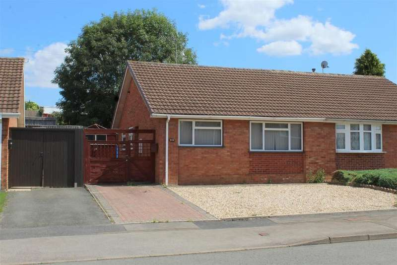2 Bedrooms Semi Detached Bungalow for sale in Bodiam Avenue, Tuffley, Gloucester