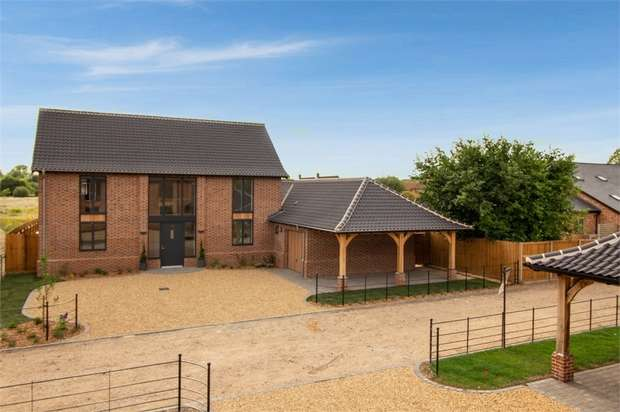 4 Bedrooms Detached House for sale in Manor Farm, Ickburgh, Thetford, Norfolk