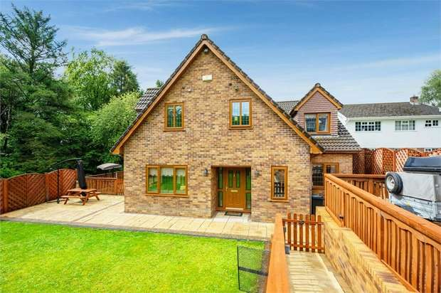 5 Bedrooms Detached House for sale in Furzeland Drive, Neath, West Glamorgan