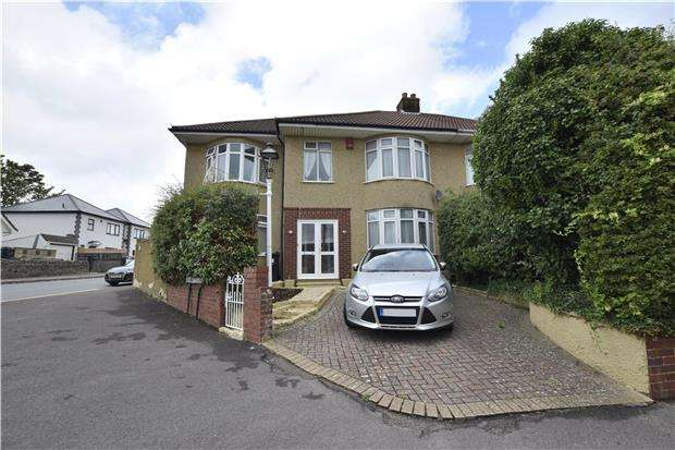 5 Bedrooms Semi Detached House for sale in Hollyguest Road, Hanham, BS15 9NN