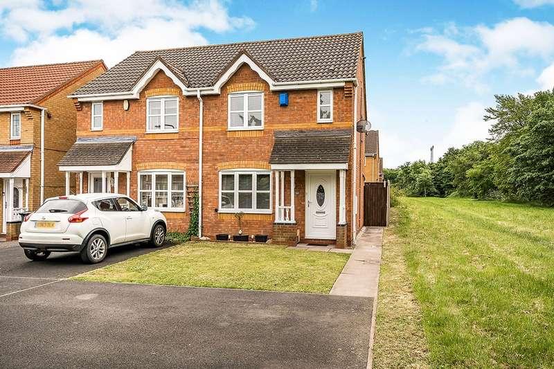 2 Bedrooms Semi Detached House for sale in Standbridge Way, Tipton, West Midlands, DY4