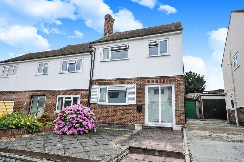 3 Bedrooms Semi Detached House for sale in Homefield Close, Swanley, Kent, BR8