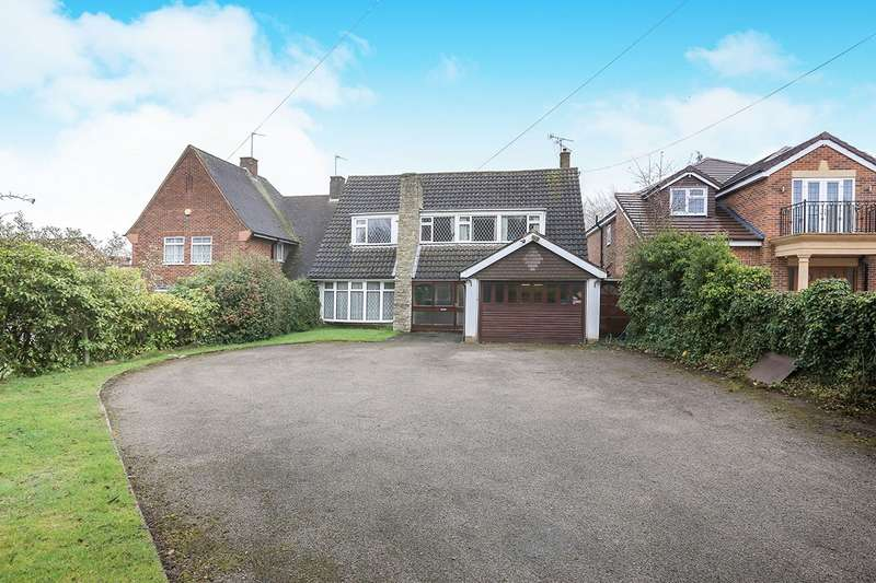 4 Bedrooms Detached House for sale in Codsall Road, WOLVERHAMPTON, WV6