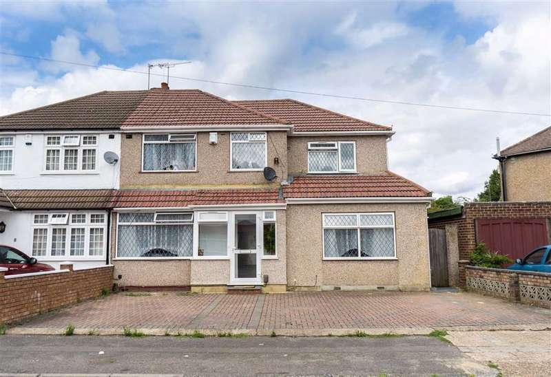 5 Bedrooms Semi Detached House for sale in Rostrevor Gardens, Hayes, Middlesex