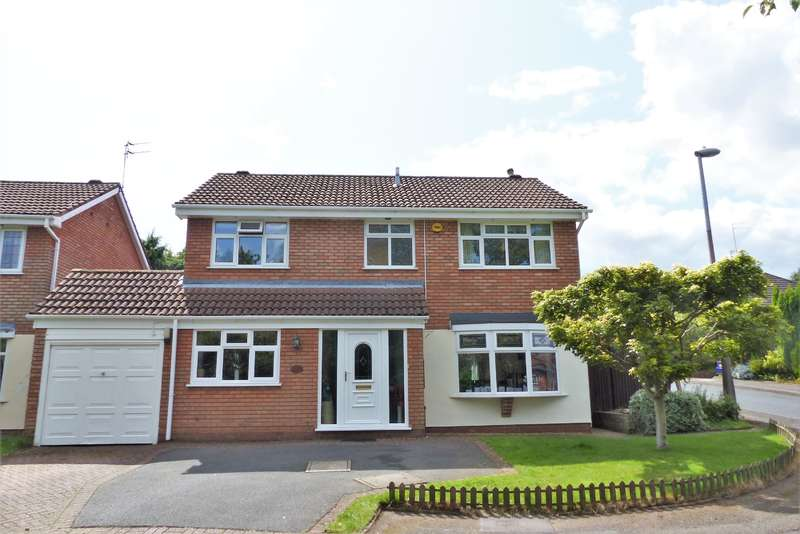 4 Bedrooms Detached House for sale in Horton Close, Sedgley, DY3 3TL