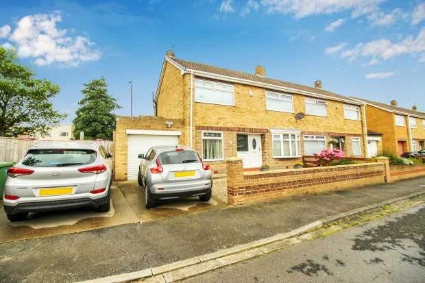 3 Bedrooms Semi Detached House for sale in Parkstone Grove, Hartlepool, Durham, TS24 9RT