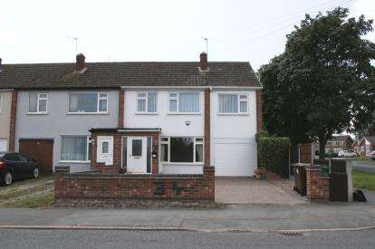 4 Bedrooms Semi Detached House for sale in Anson Road, Shepshed, Loughborough, Leicestershire