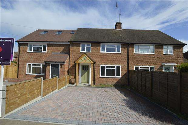 3 Bedrooms Terraced House for sale in Northdown Road, Kemsing, SEVENOAKS, Kent, TN15 6SB