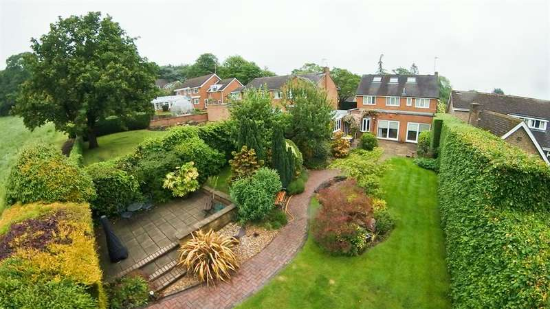 4 Bedrooms Detached House for sale in South Lodge Court, Old Road, Ashgate, Chesterfield, S40 3QG
