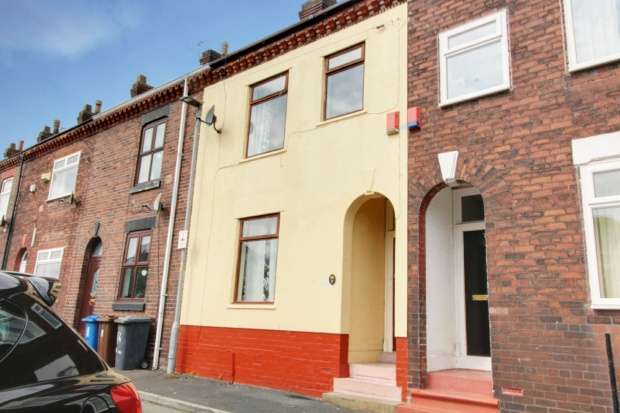 3 Bedrooms Terraced House for sale in Railway Road, Warrington, Cheshire, WA3 3BY