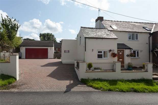 3 Bedrooms Semi Detached House for sale in Church Lane, St Martins, Oswestry, Shropshire