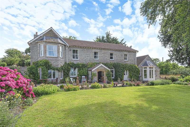 4 Bedrooms Detached House for sale in Kingsdon, Somerton, Somerset, TA11