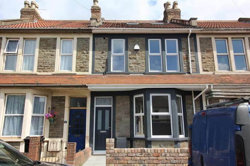 4 Bedrooms Terraced House for sale in Berkeley Road, Fishponds, Bristol, BS16 3LY