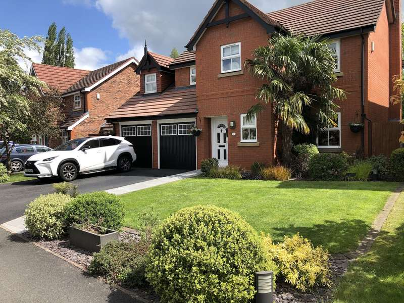 5 Bedrooms Detached House for sale in Saltmeadows, Nantwich, CW5