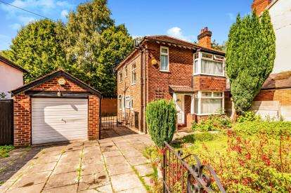 3 Bedrooms Detached House for sale in Kennerley Road, Davenport, Stockport, Cheshire