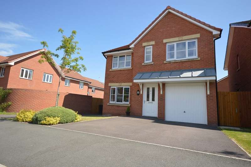 4 Bedrooms Detached House for sale in Gloucester Avenue, Middlewich, CW10 9QG