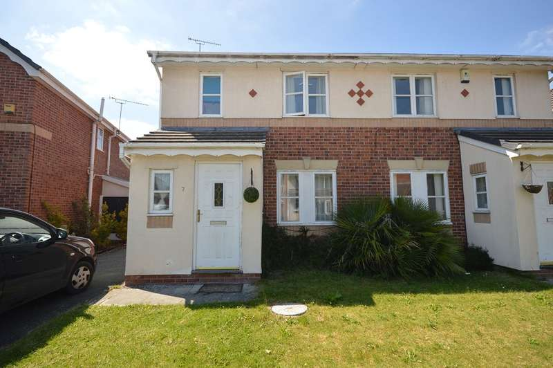 3 Bedrooms Semi Detached House for sale in Beltony Drive, Crewe, CW1 4TX