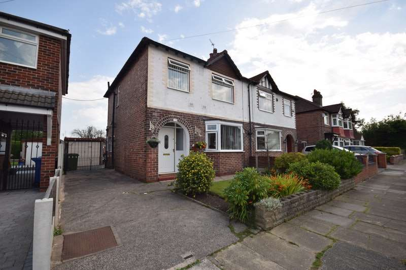 3 Bedrooms Semi Detached House for sale in Meadows Road, Heald Green, Greater Manchester, SK8