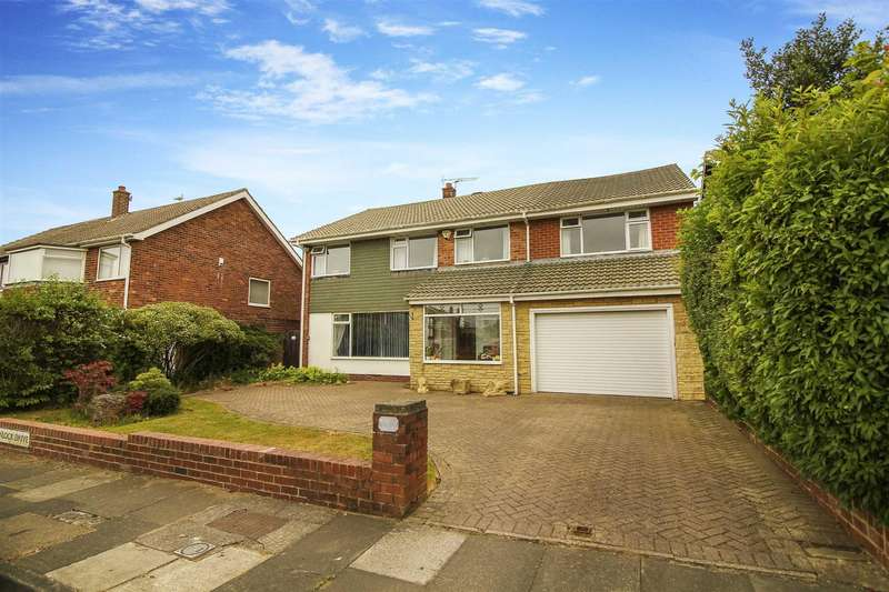 5 Bedrooms Detached House for sale in Wenlock Drive, Preston Grange, North Shields