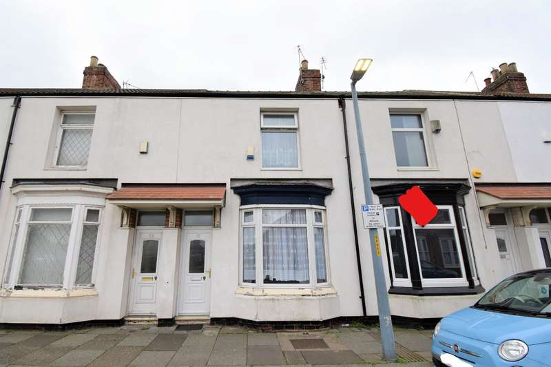 3 Bedrooms Terraced House for sale in Princes Road, Middlesbrough, TS1 4BN