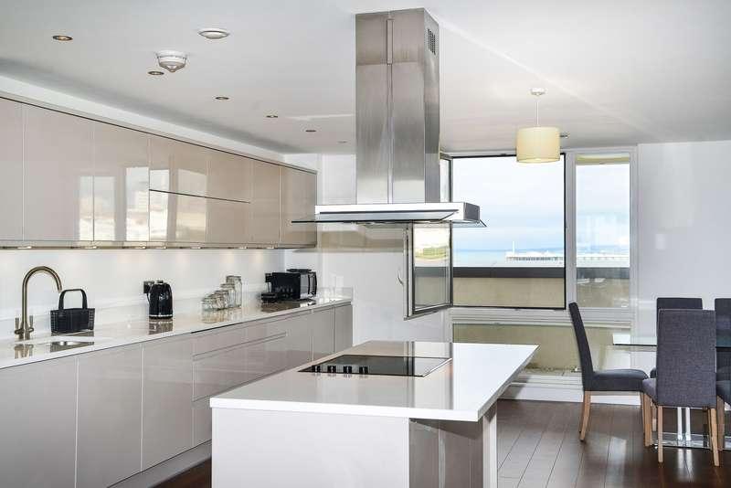 4 Bedrooms Apartment Flat for rent in Sirius 2 The Boardwalk, Brighton