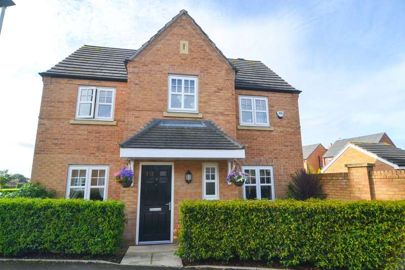 4 Bedrooms Detached House for sale in Massey Close, Newton Le Willows
