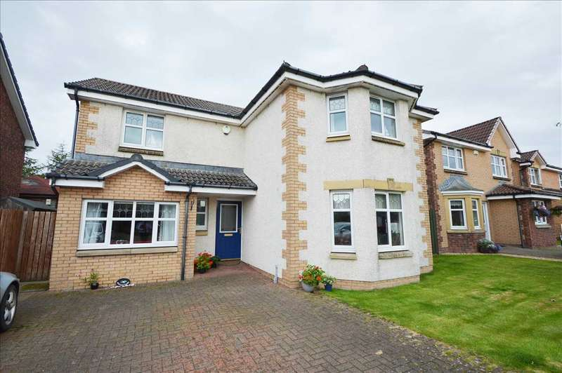 4 Bedrooms Detached House for sale in Toftcombs Crescent, Stonehouse