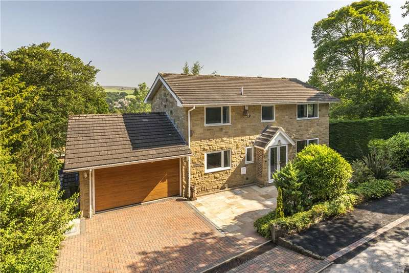 5 Bedrooms Detached House for sale in Parish Ghyll Lane, Ilkley, West Yorkshire