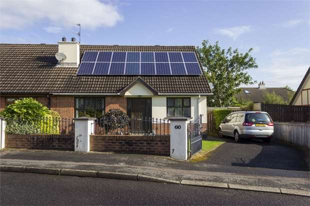 3 Bedrooms Semi Detached Bungalow for sale in The Meadows, Londonderry