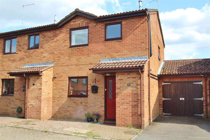 3 Bedrooms Semi Detached House for sale in Mount Pleasant, Steeple Claydon