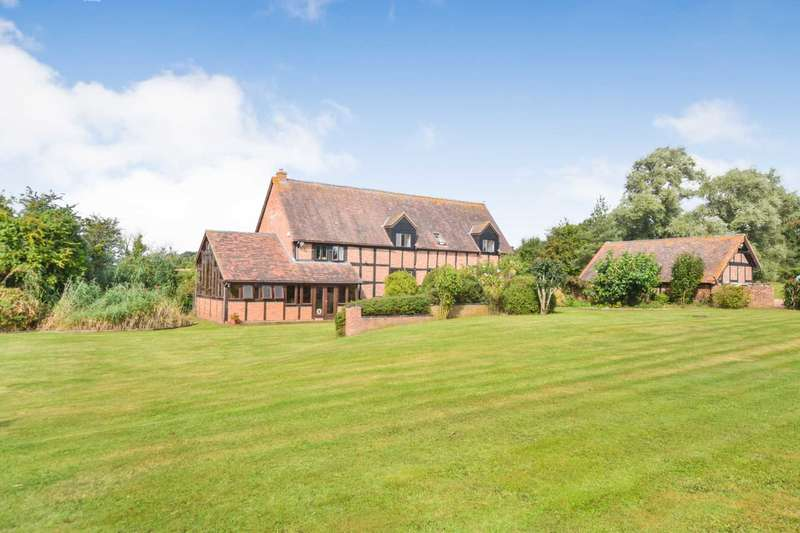 4 Bedrooms Detached House for sale in Dunsmore Green, Forthampton, Gloucestershire