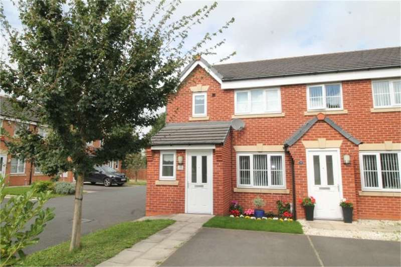 3 Bedrooms Semi Detached House for sale in Westfields Drive, BOOTLE, Merseyside