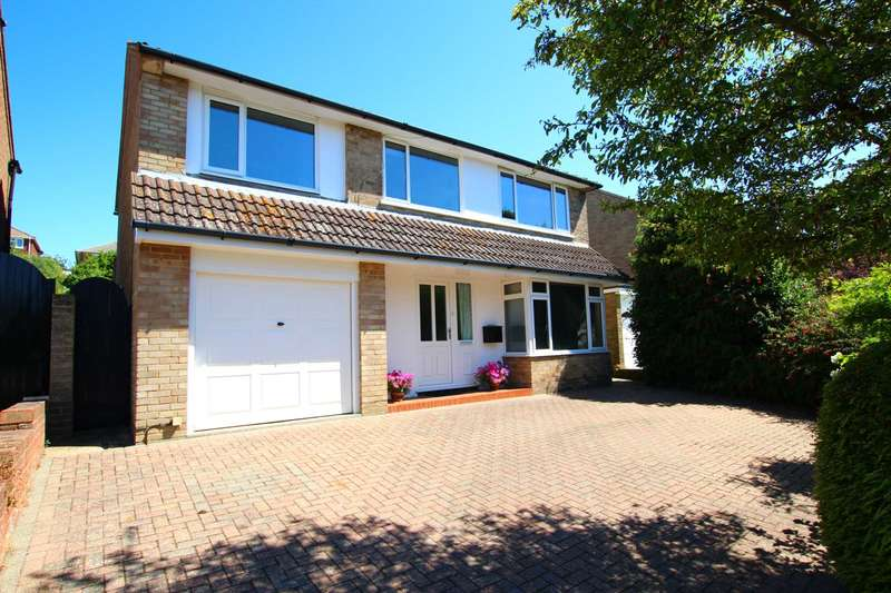 4 Bedrooms Detached House for sale in Glendale Avenue, Eastbourne, BN21 1UU