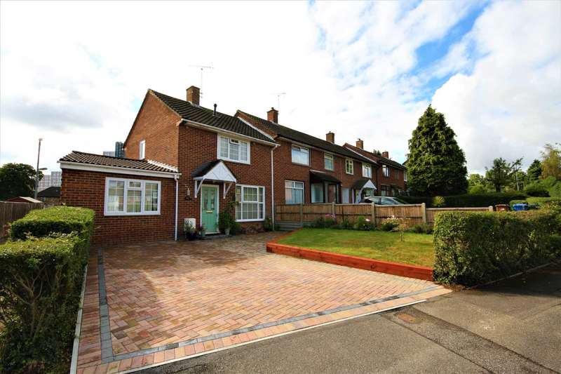 2 Bedrooms End Of Terrace House for sale in Fraser Road, Bracknell