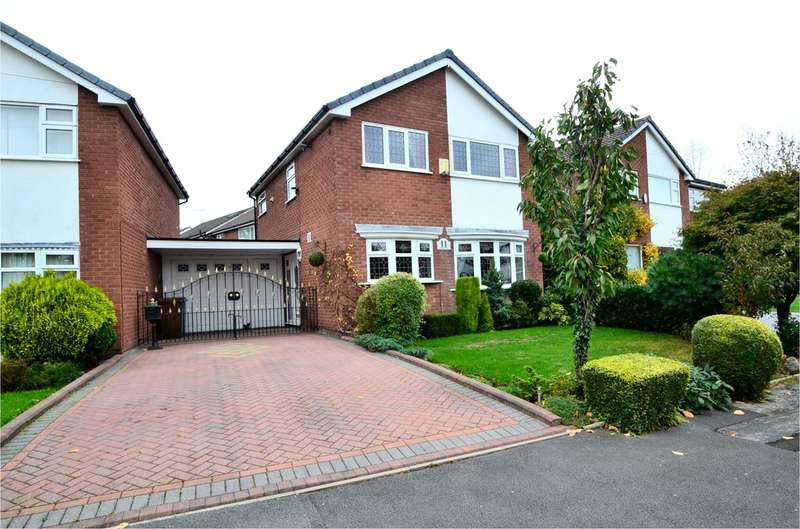 3 Bedrooms Detached House for sale in Chepstow Drive, Hazel Grove, Stockport SK7 4RY