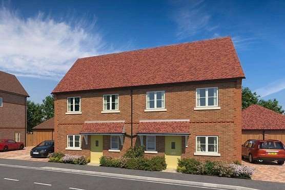 3 Bedrooms Semi Detached House for sale in Abbey Barn Lane, High Wycombe, Buckinghamshire