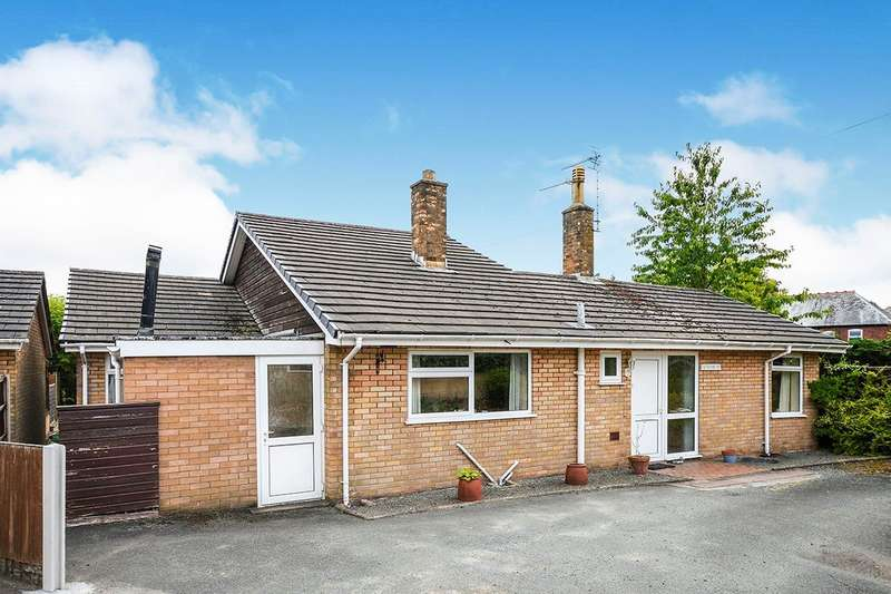 4 Bedrooms Detached Bungalow for sale in Upper Church Street, Oswestry, Shropshire, SY11