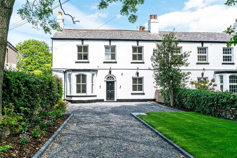 5 Bedrooms Semi Detached House for sale in Warrington Road, Rainhill, Prescot, Merseyside, L35